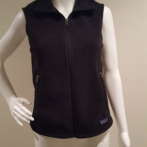 Patagonia Classic Synchilla Fleece Vest Black S